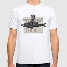 Impromptu n°1 SMALL Ash Grey Mens Fitted Tee