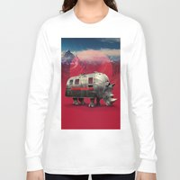 rhino Long Sleeve T-shirts featuring Rhino by Ali GULEC