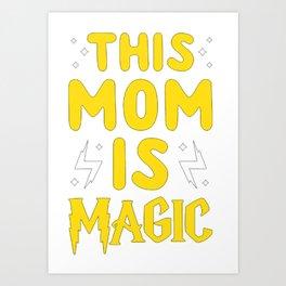 Mother's Day T-Shirt Art Print