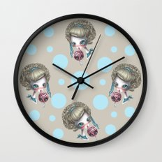 Stop licking me Wall Clock