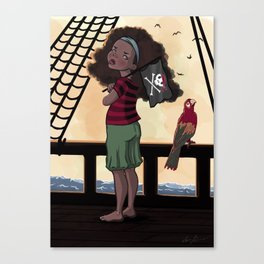 Yarr Canvas Print