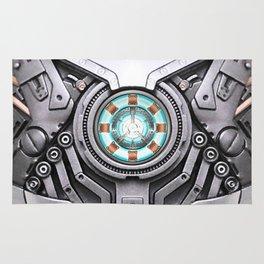 Arc Reactor Body Armor Rug