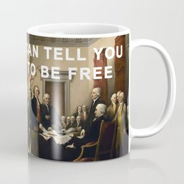Come Together To Be Free Coffee Mug