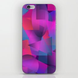 Abstract cube iPhone Skin