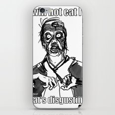 I will not eat IT! iPhone & iPod Skin