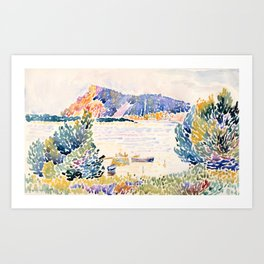 "Henri-Edmond Cross ""Cap Nègre"" Art Print"