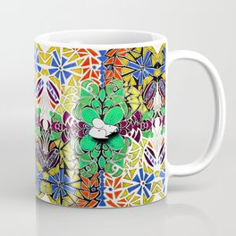 Symmetrical Mouse (-180) Coffee Mug