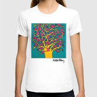 keith haring T-shirts featuring Keith Haring: The Tree of Monkeys by cvrcak
