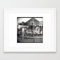 carousel Framed Art Prints featuring Carousel by Ibbanez