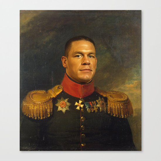 John Cena - replaceface Canvas Print