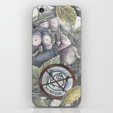 The Eagle and the Owl iPhone & iPod Skin