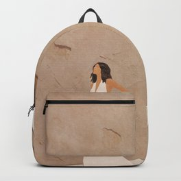 New White Dress II Backpack