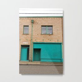 Old apartment building Metal Print