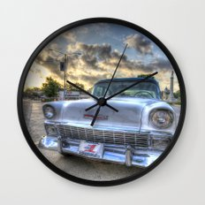 Gonzales Chevy Wall Clock