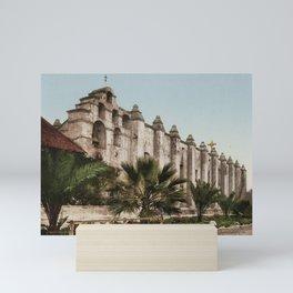Mission San Gabriel Mini Art Print