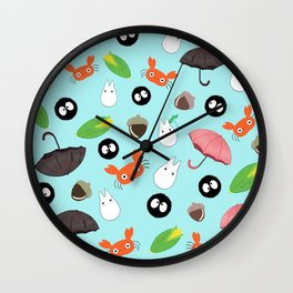 Let's meet again the forest god Wall Clock