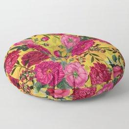 Vintage & Shabby Chic - Summer Tropical Garden Floor Pillow