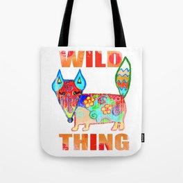 Wild thing - fox Tote Bag