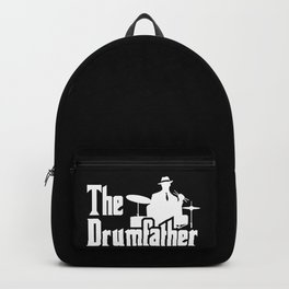 The Drumfather Funny Gift For Drummer design Backpack