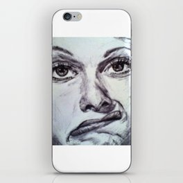SILLY FACE iPhone Skin