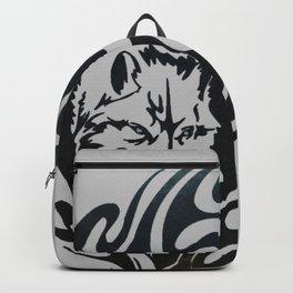 Diamond Eyes Wolf Backpack
