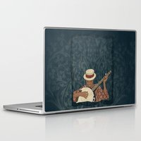 banjo Laptop & iPad Skins featuring Banjo by Aquamarine Studio