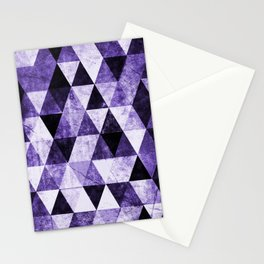 Abstract #975 Ultraviolet Stationery Cards