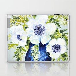 Anemones in vase Laptop & iPad Skin