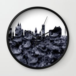 Liverpool Skyline Great Britain Wall Clock