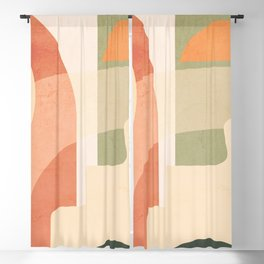 Abstract Art / Shapes 44 Blackout Curtain