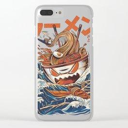The Great Ramen off Kanagawa Clear iPhone Case