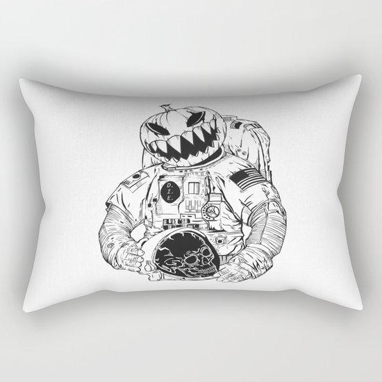 Astronaut's Halloween  Rectangular Pillow