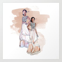Prom Night Art Print