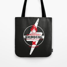 Spontaneously Kemical Tote Bag