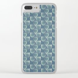 The Silver Breath of Winter Clear iPhone Case