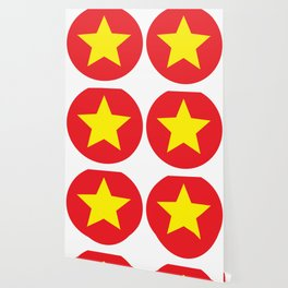Vietnam Flag Wallpaper For Any Decor Style Society6