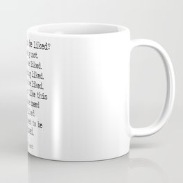 "The Office Micheal Scott Quote "" Do I need to be like?"" Coffee Mug"
