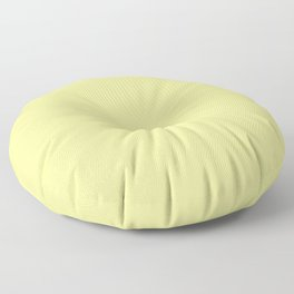 Simply Pastel Yellow Floor Pillow