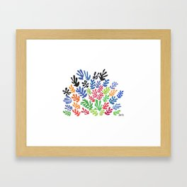 La Gerbe by Matisse Framed Art Print