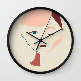 Hello Audrey Wall Clock