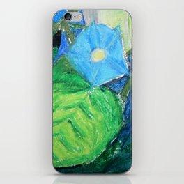 Glory in Blure iPhone Skin