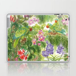 Birds and Orchids Tropical Rainforest II Laptop & iPad Skin