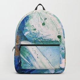 Ocean White Backpack