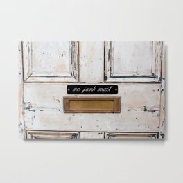 London - Mailbox Metal Print