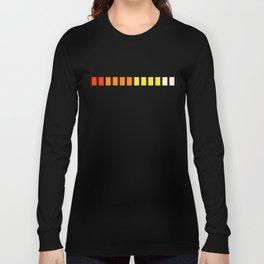 Minimal Synthesizer Design Long Sleeve T-shirt