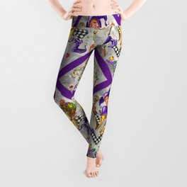 Peace, Plenty and Happiness Fool Leggings