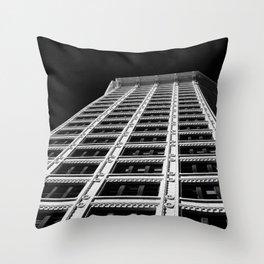 Smith Tower Seattle Throw Pillow