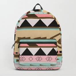 Aztec Pattern No. 18 Backpack