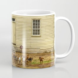 Fox Hunt Coffee Mug