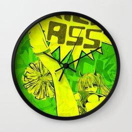 SUPER HIGH KICK!! Wall Clock